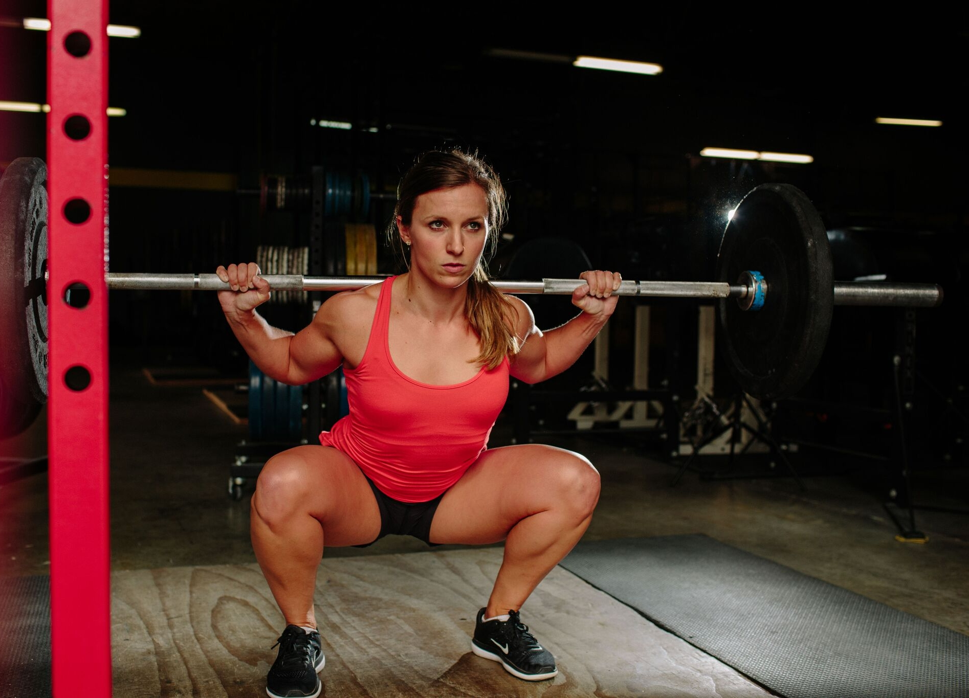 If you can sit down, you can squat! See my 3 steps below to squat better RIGHT NOW!