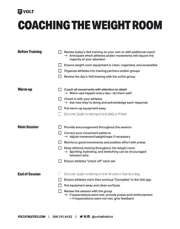 Start training effectively now -