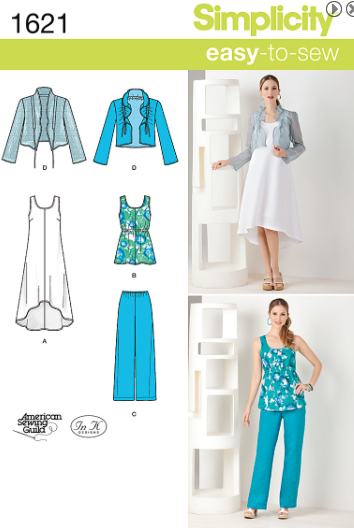 simplicity pattern #1621 available now.