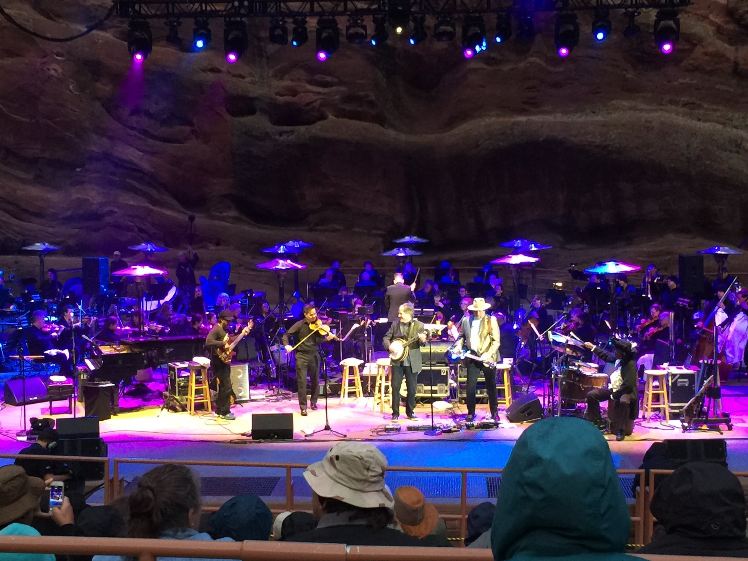 Béla Fleck & The Flecktones @ Red Rocks 2019