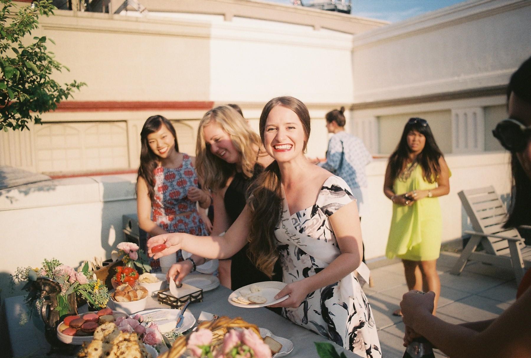 rooftop celebrations for Brynn's bachelorette! #brynnsbachelorettebash