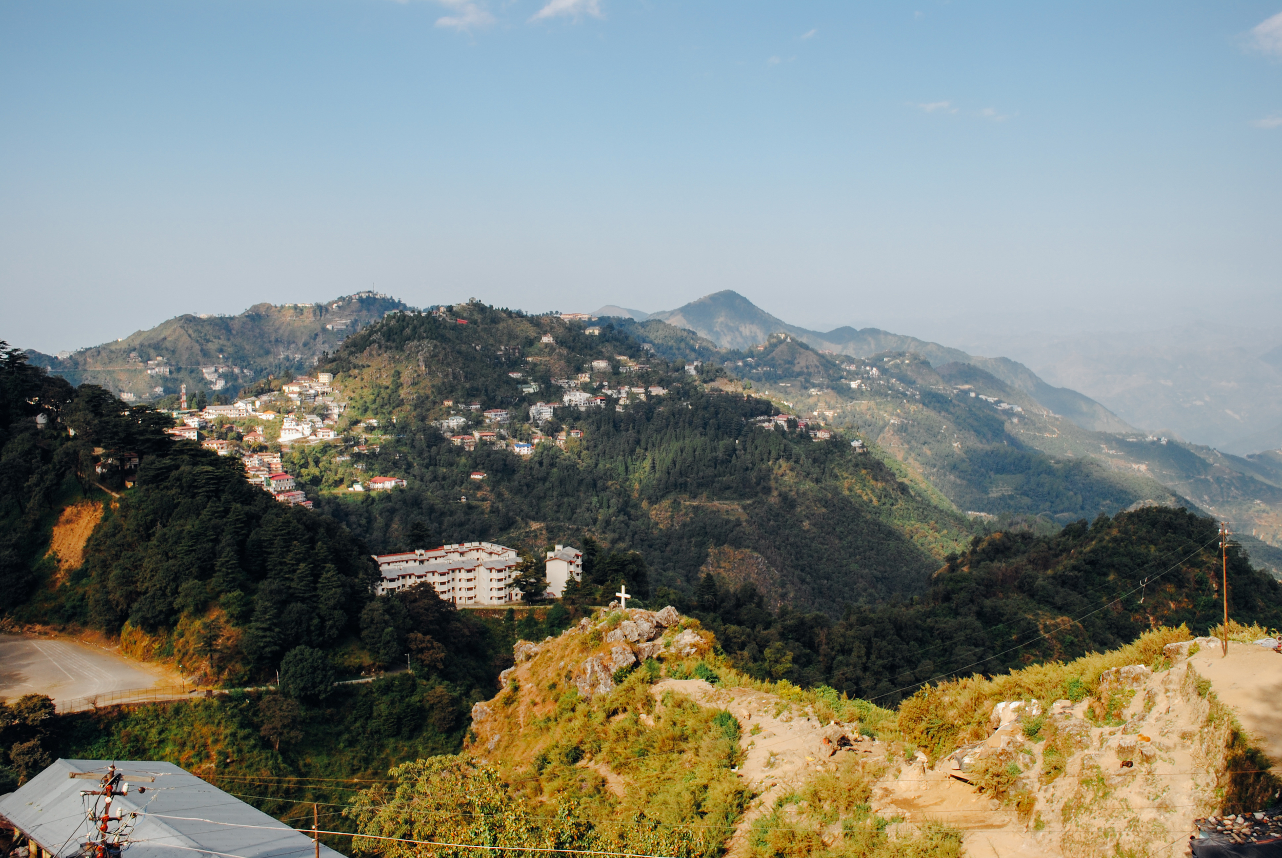I took this photo while in Mussoorie, India for the first time in Nov 2012. A place where you very much feel on the precipitous edge of the world.