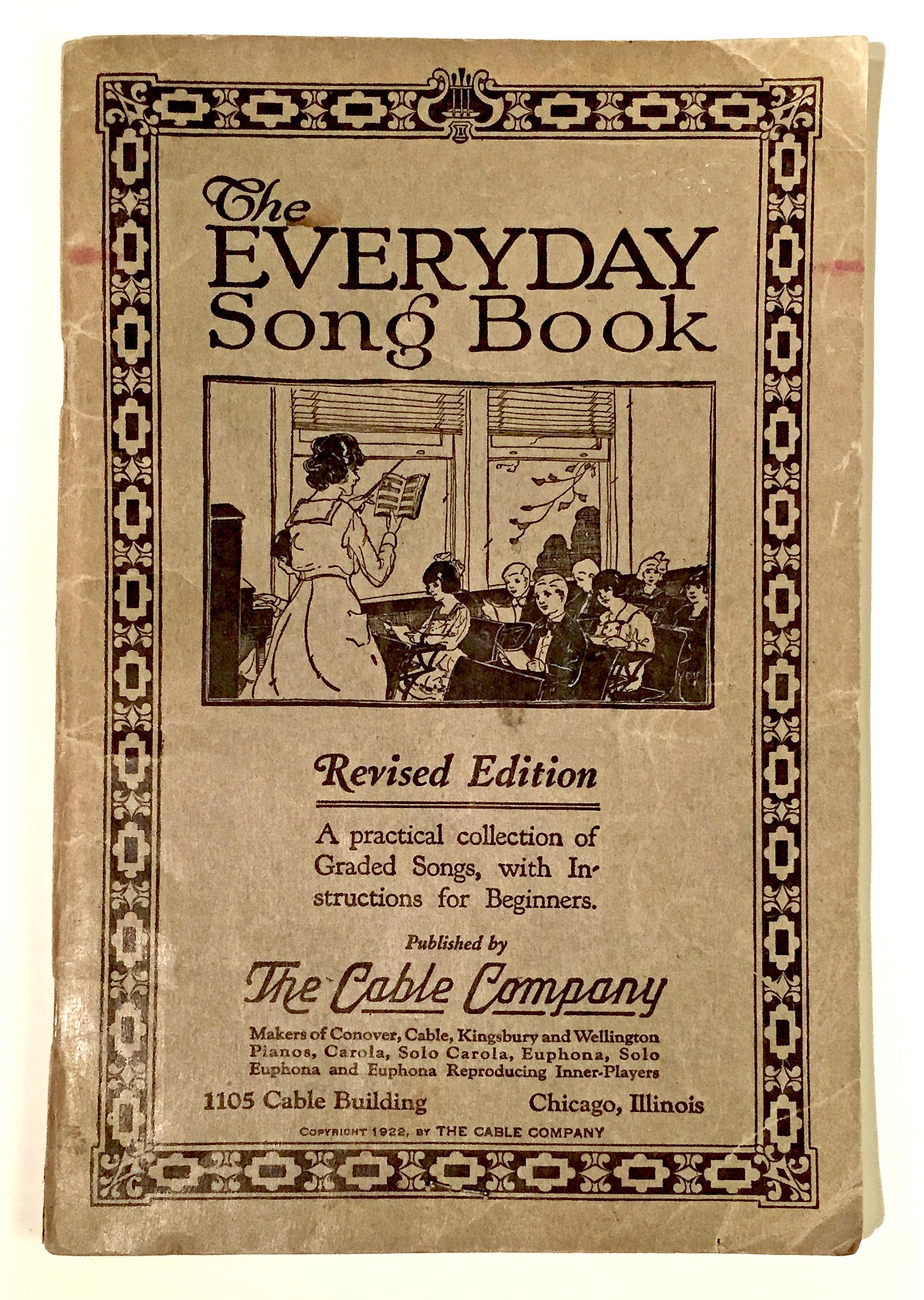 A 1922 book that contained the (unauthorized?) lyrics.