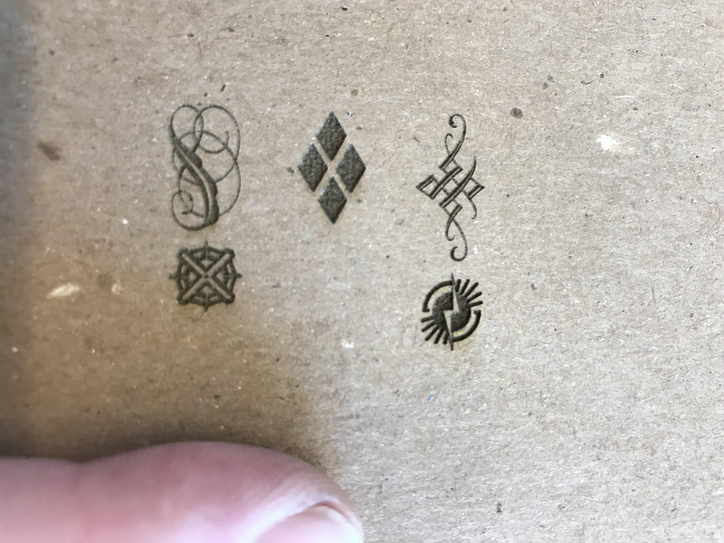 Davey board engraving