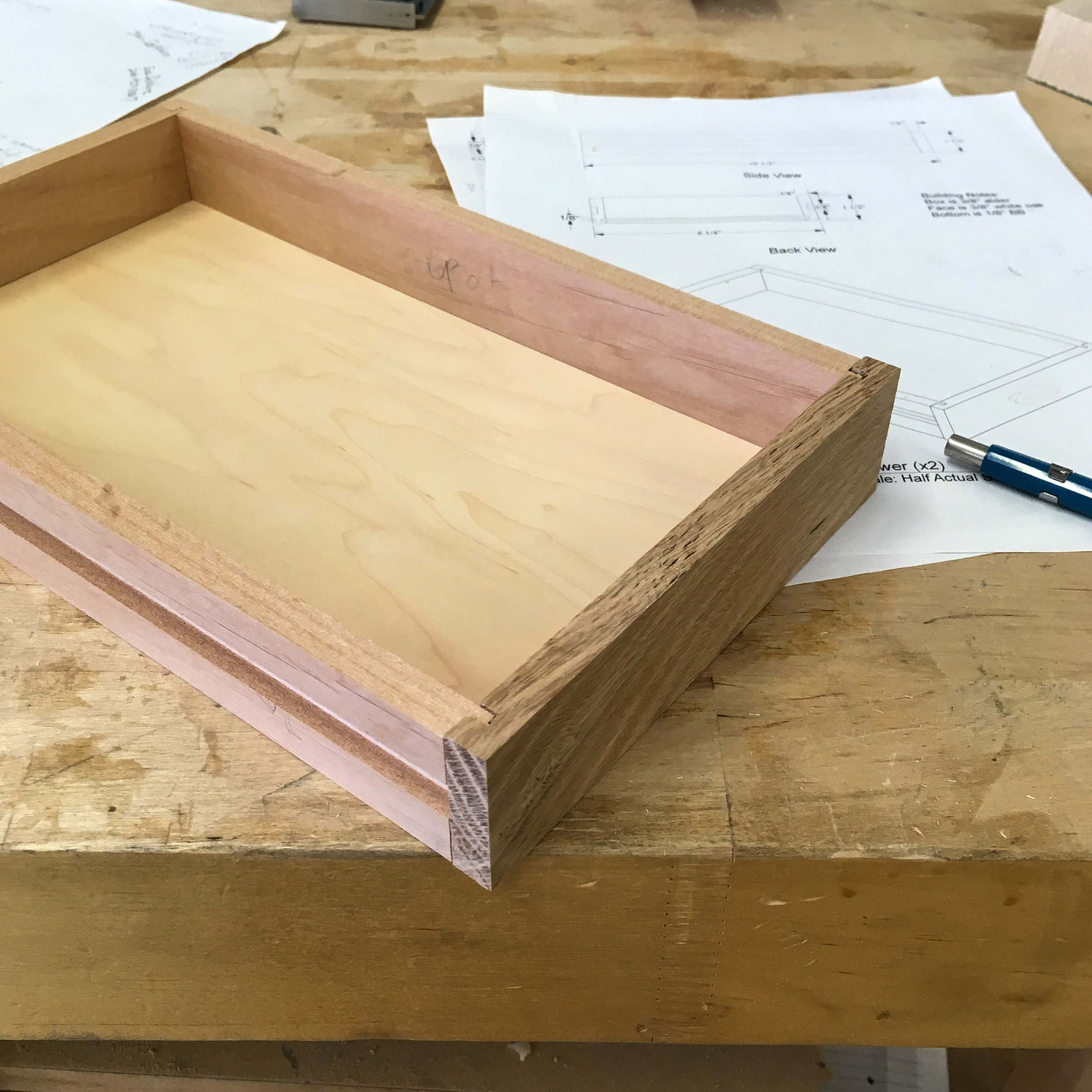 Drawer from prototype #2