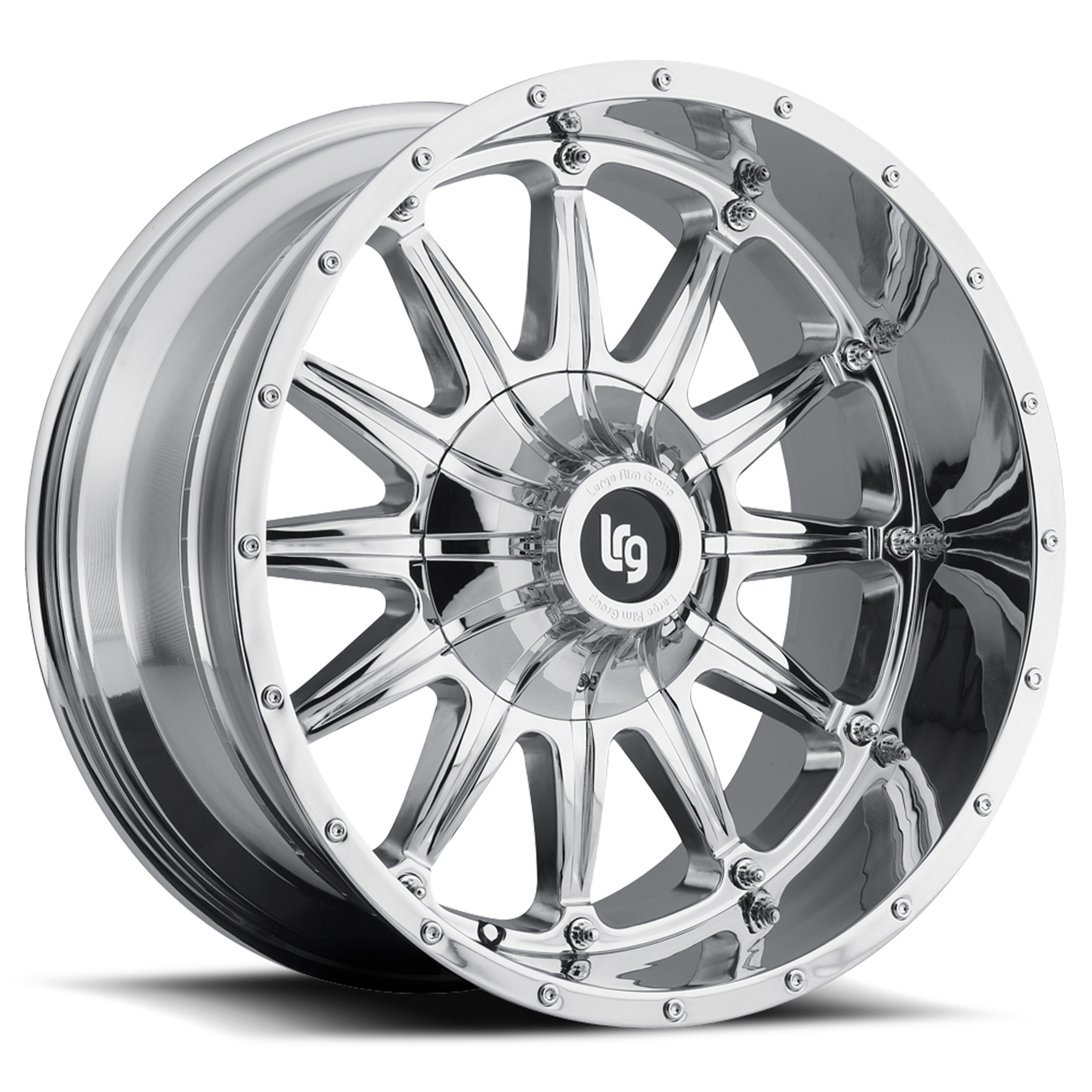 LRG Rims Series 103 Chrome Finish Wheels