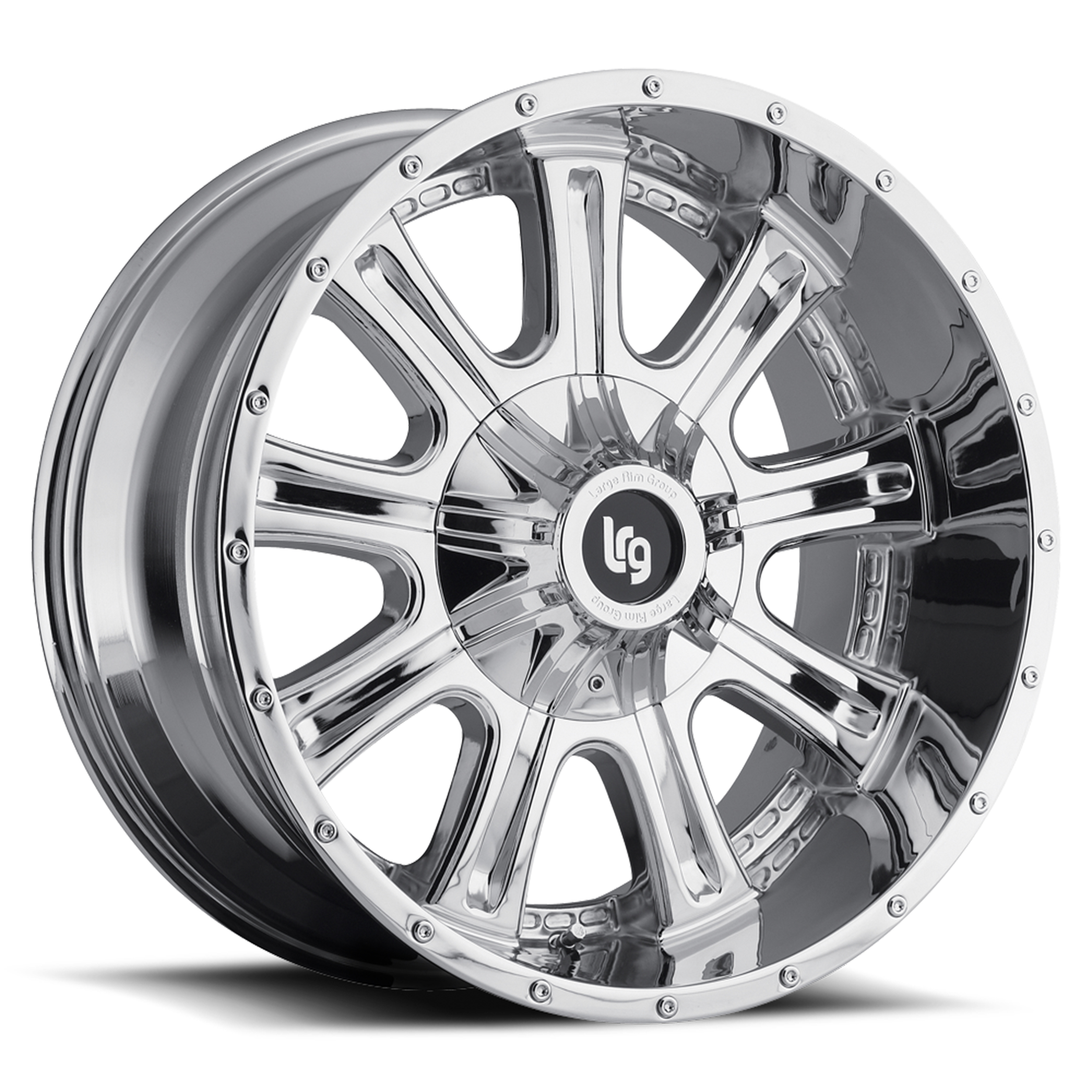 LRG Rims Series 105 Chrome Finish Wheels
