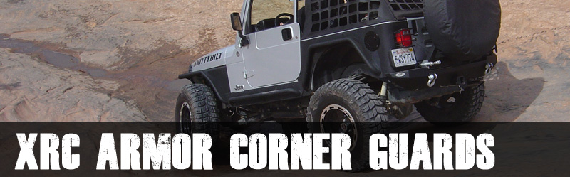 Smittybilt XRC Armor Corner Guards JK