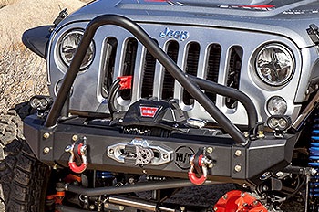 20% OFF and Free Shipping on all Mickey Thompson's NEWMetal Series Front Bumper & Rear Bumper for theJeep Wrangler JK!