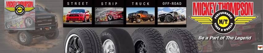 Mickey Thompson Tires , Wheels, Bumpers