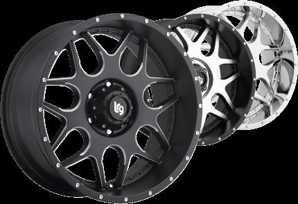 LRG Rims - Large Rim Group OffRoad Truck Wheels