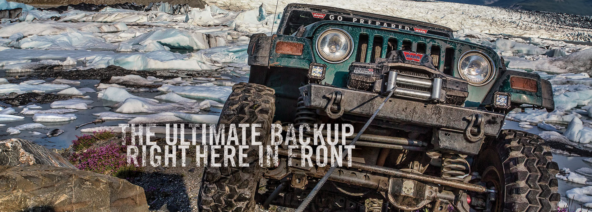 The WARN winch line-up runs deep: from the Ultimate Performance winches featuring ZEON Platinum, to the Premium and Entry Level Series featuring the VR Winch.