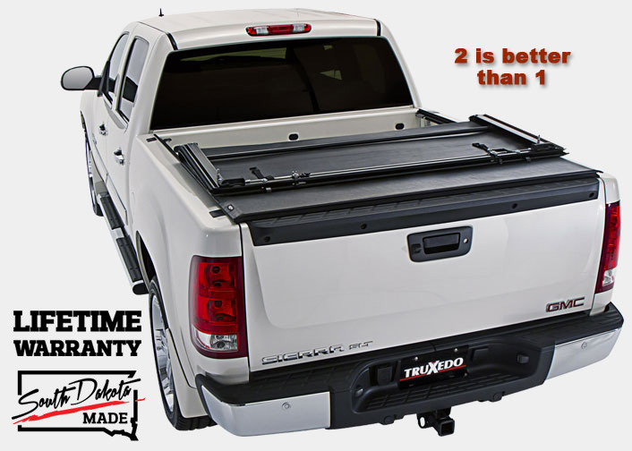 TruXedo Deuce The First & Only Soft Roll-up Hinged Tonneau Cover Combination