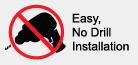 TonneauMate Easy, No Drill Installation