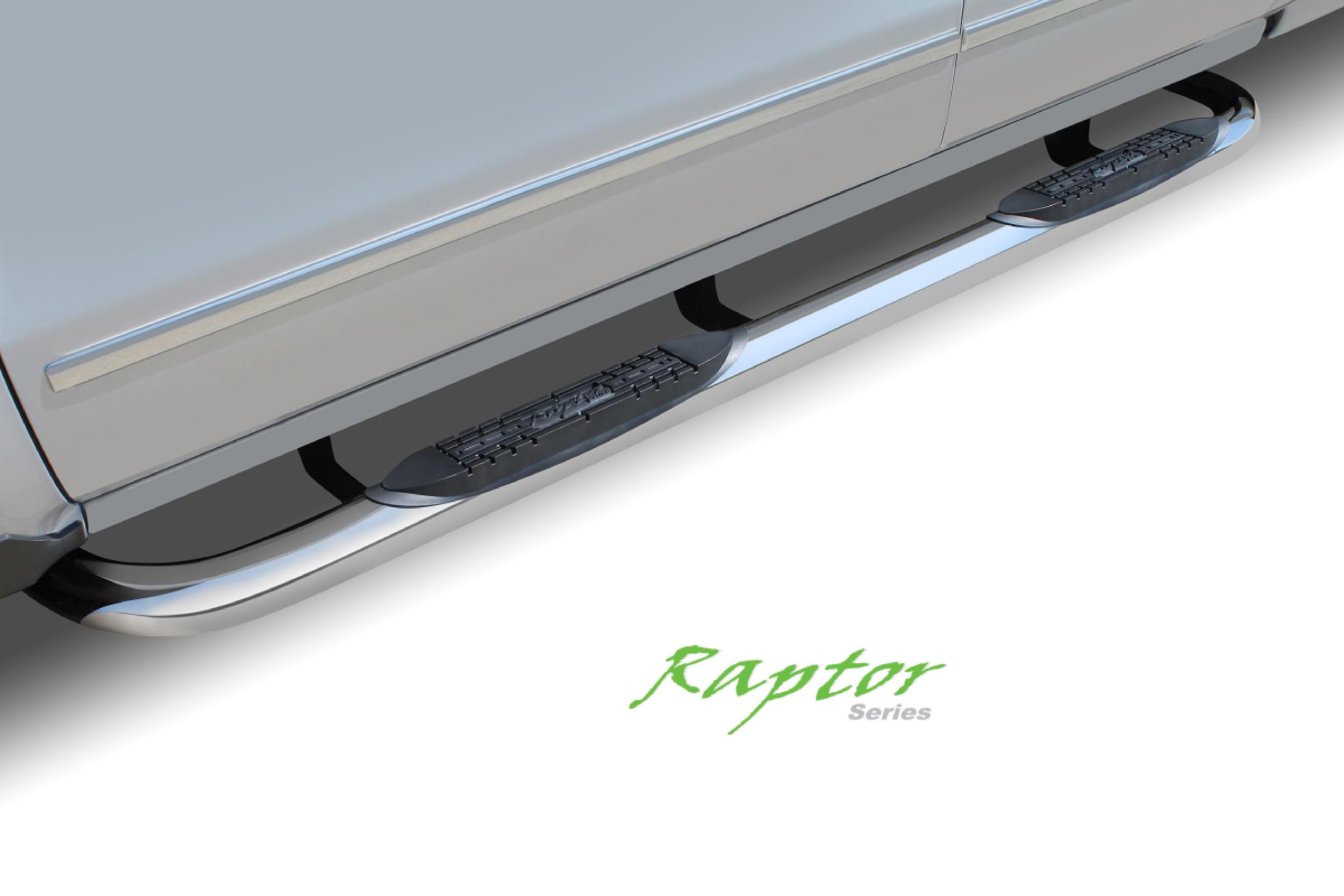 Raptor Series  Side Steps - Nerf Bars - Running Boars - Bed Rails