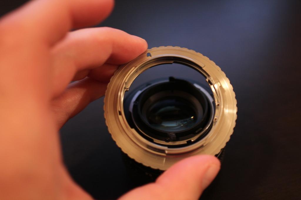 Lens adapter.