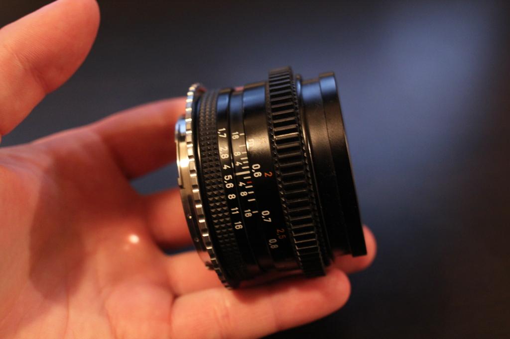 Lens gear.