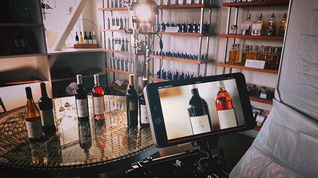 Shootin' some wine bottles and pours in #Napa. . . . #Arri #Chimera #blackmagicdesign #bmpcc4k #sigma1835 #sigma50100 #napavalley #skypanel #modernstudio #corporatevideo #videoadvertising #s30skypanel #napacountyvideo #sonomacountyvideo #videoproduction #videomarketing #woodencamera #smallhd #dji #idxtek #benro #sachtler #120fps #braw