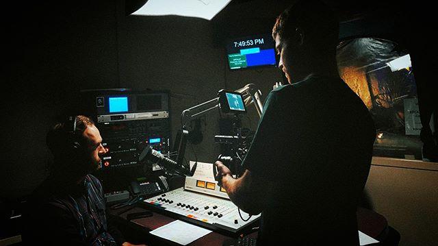Filming @sconeboneradio in his natural environment with @davidlikeslights. . . . #arri #chimera #blackmagicdesign #bmpcc4k #bmpcc4krig #sonya6500 #sigma1835 #intellytech #modernstudio #corporatevideo #sonomacountyvideo #videoproduction #videomarketing #minidoc #woodencamera #smallhd #idxtek #leicar #localradio #radiodj #petalumaPCA #petalumavideoproduction #blackpromist #corporatemarketing #overheadlight #musicproduction #radiostation