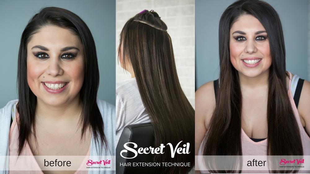 Secret extensions short hair