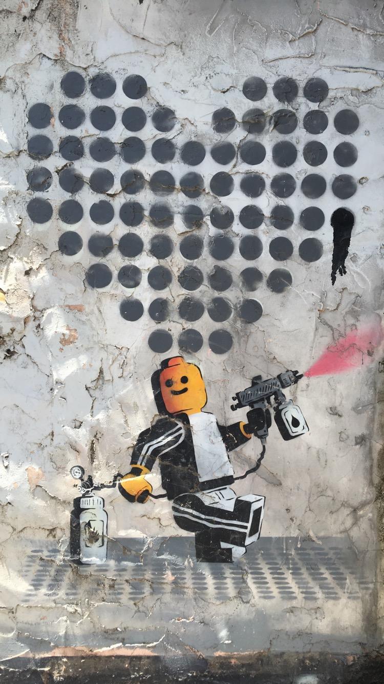 Graffiti in Tel Aviv, 2016