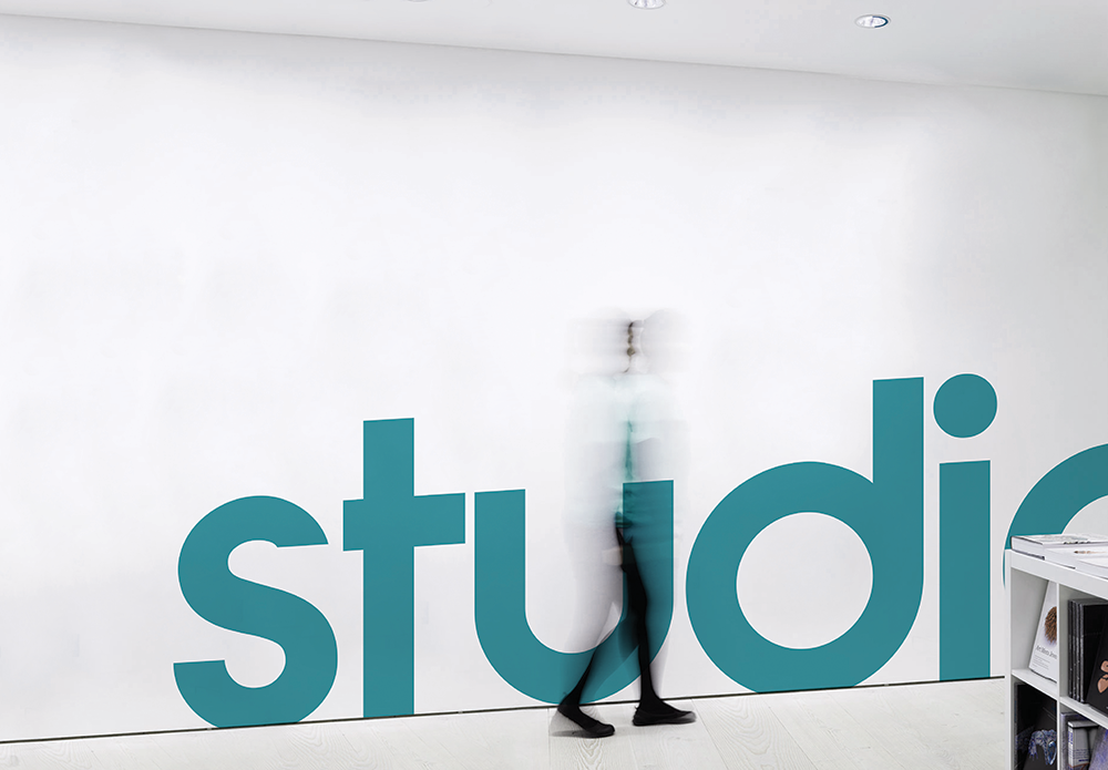 dogfella_branding_environment_studio_wall