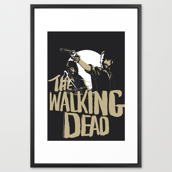 The_Walking_Dead_Framed