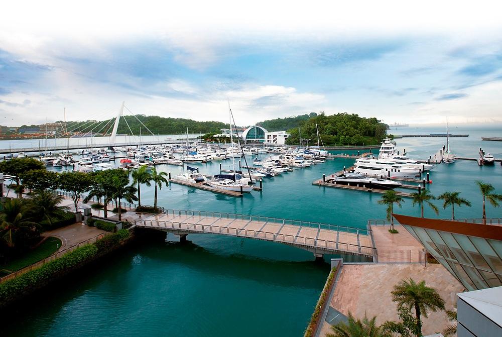 Marina berthing facilities
