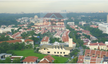 North East view towards Bt Timah