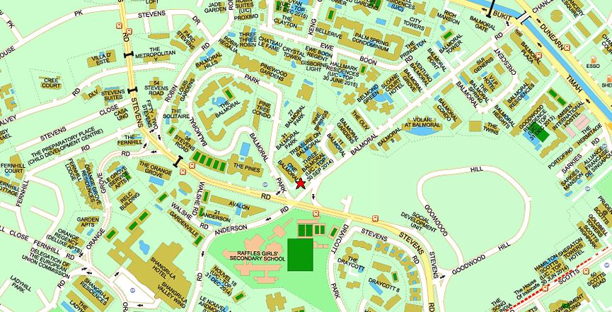 One Balmoral Location Map