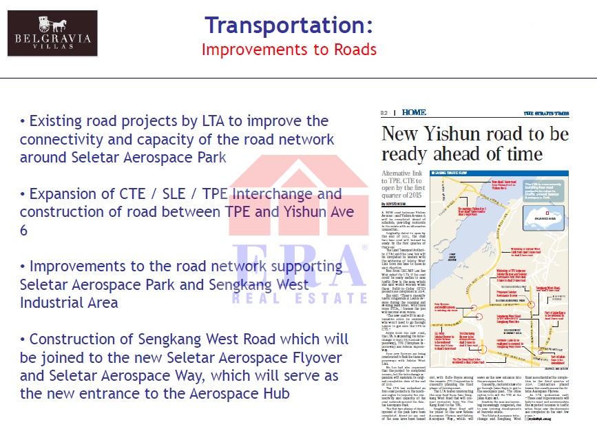 Improvement to Roads