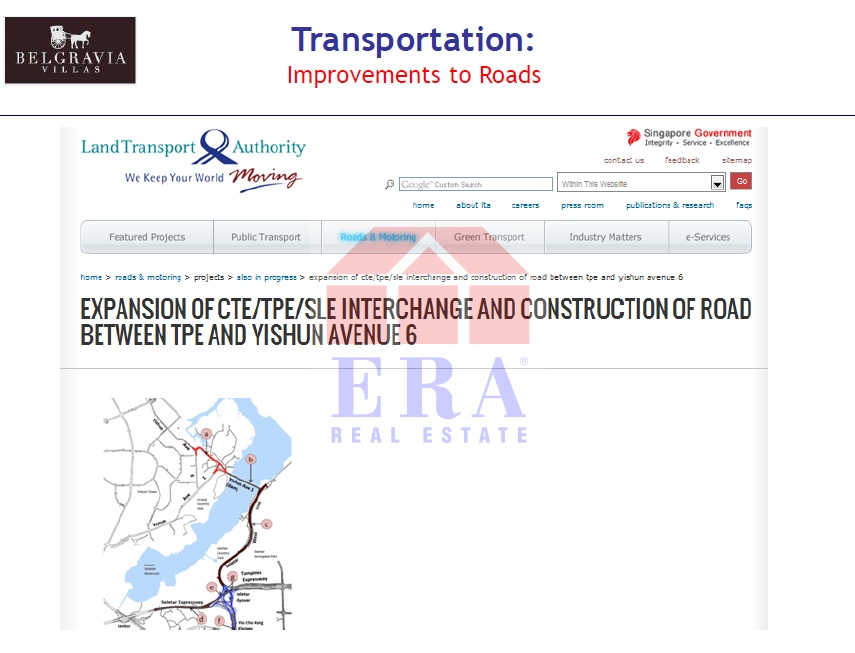Road expansion and new road construction
