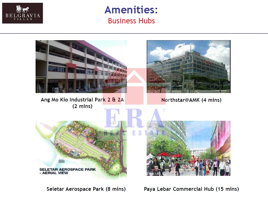 Industrial Parks and Commercial Hubs