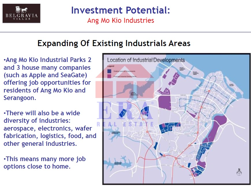Existing Industriall Areas expansion