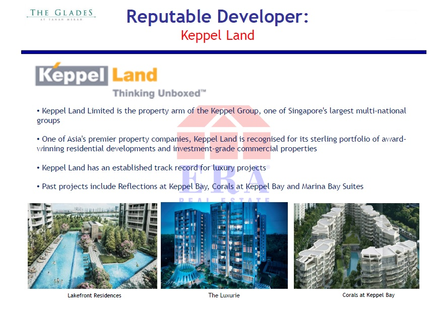 The heritage of Keppel Land - a distinguished and renowned developer