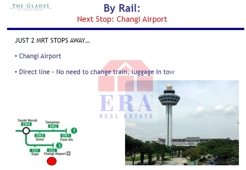 By Rail - 2nd Stop - Changi Airport