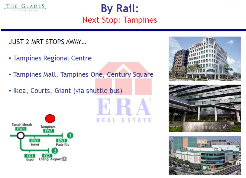 By Rail: 2nd Stop - Tampines