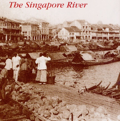 Singapore early days  - a historical pictogram