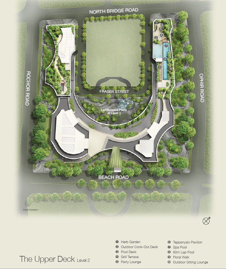 Duo Residences Site Plan