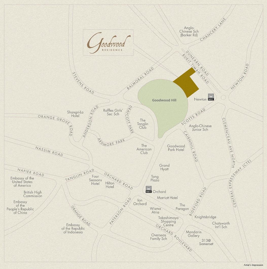 Goodwood Residence Site at Bukit Timah