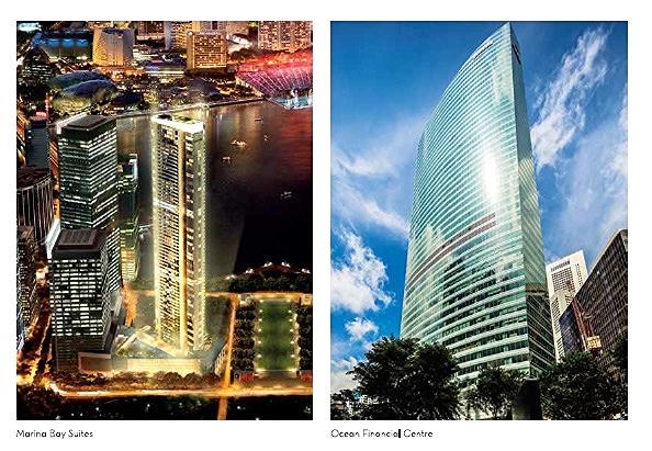Marina Bay Financial Centre and Ocean Financial Centre