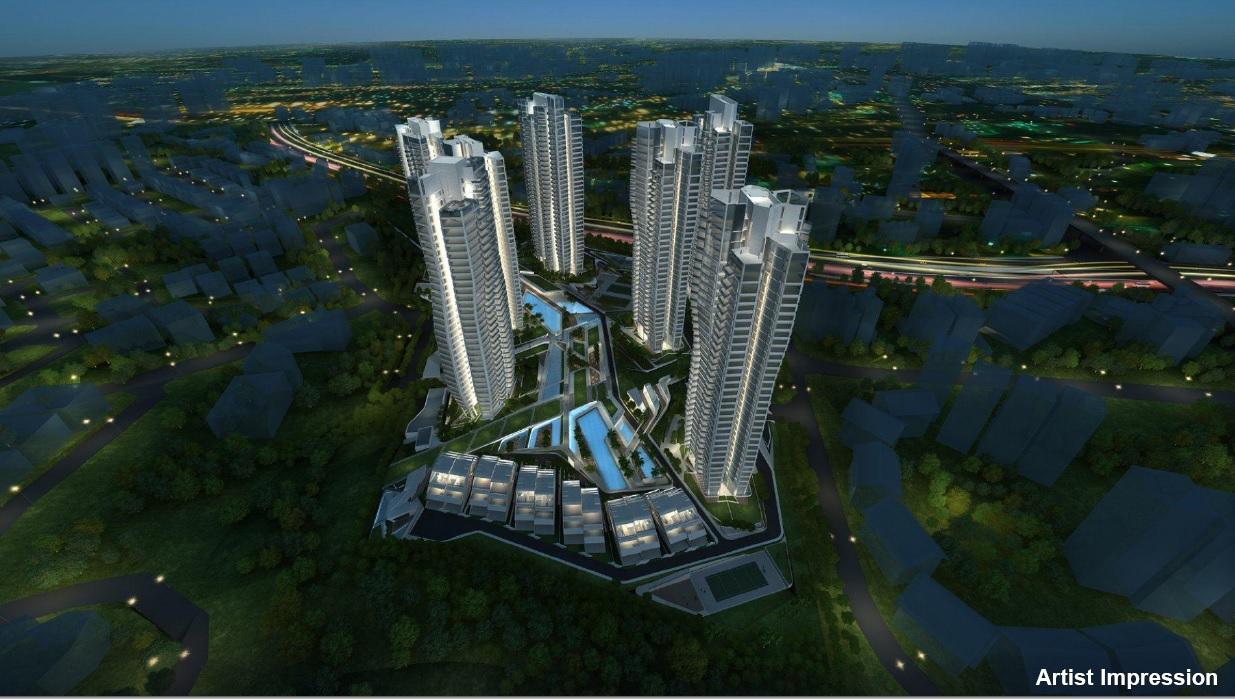 CapitaLand's d'Leedon Condominium