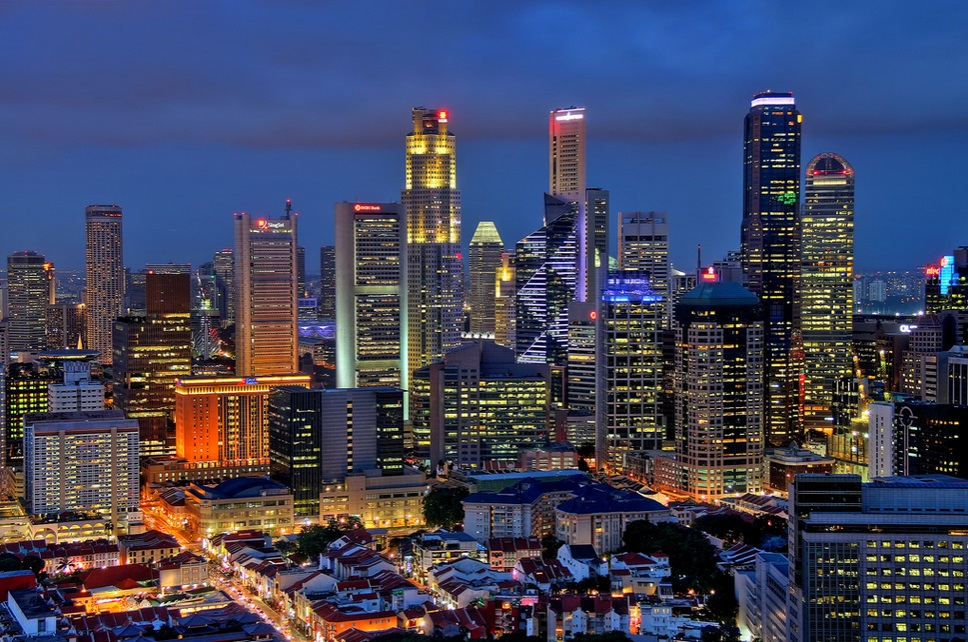 Singapore city by  Erwin Soo