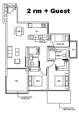 2 bedroom-guest-Cairnhill-nine.jpg