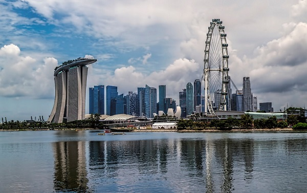 Marina Bay by  Brian Evans