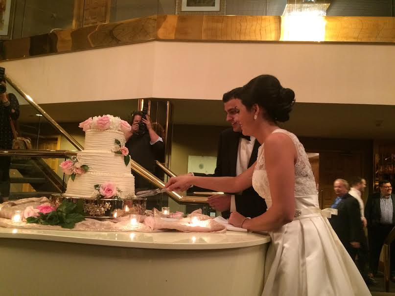 Cake cutting - harder than it looks.