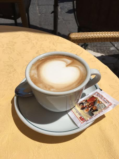I was not not a coffee drinker, but after this trip I am officially HOOKED on Cappuccinos.