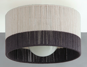 Horizon String Drum Ceiling Fixture