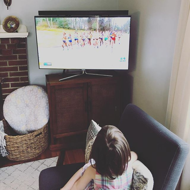 It's hard to believe that 6 years ago Phil and I stood as spectators watching the Boston Marathon. We were right there at the finish line...between the two bombs. Today we are back in this city in our cozy living room and I am watching the marathon with Ruby, who wasn't even dreamed of 6 years ago. And while those horrifying moments definitely changed Phil and I's lives forever we are so thankful that we were safe. #bostonstrong