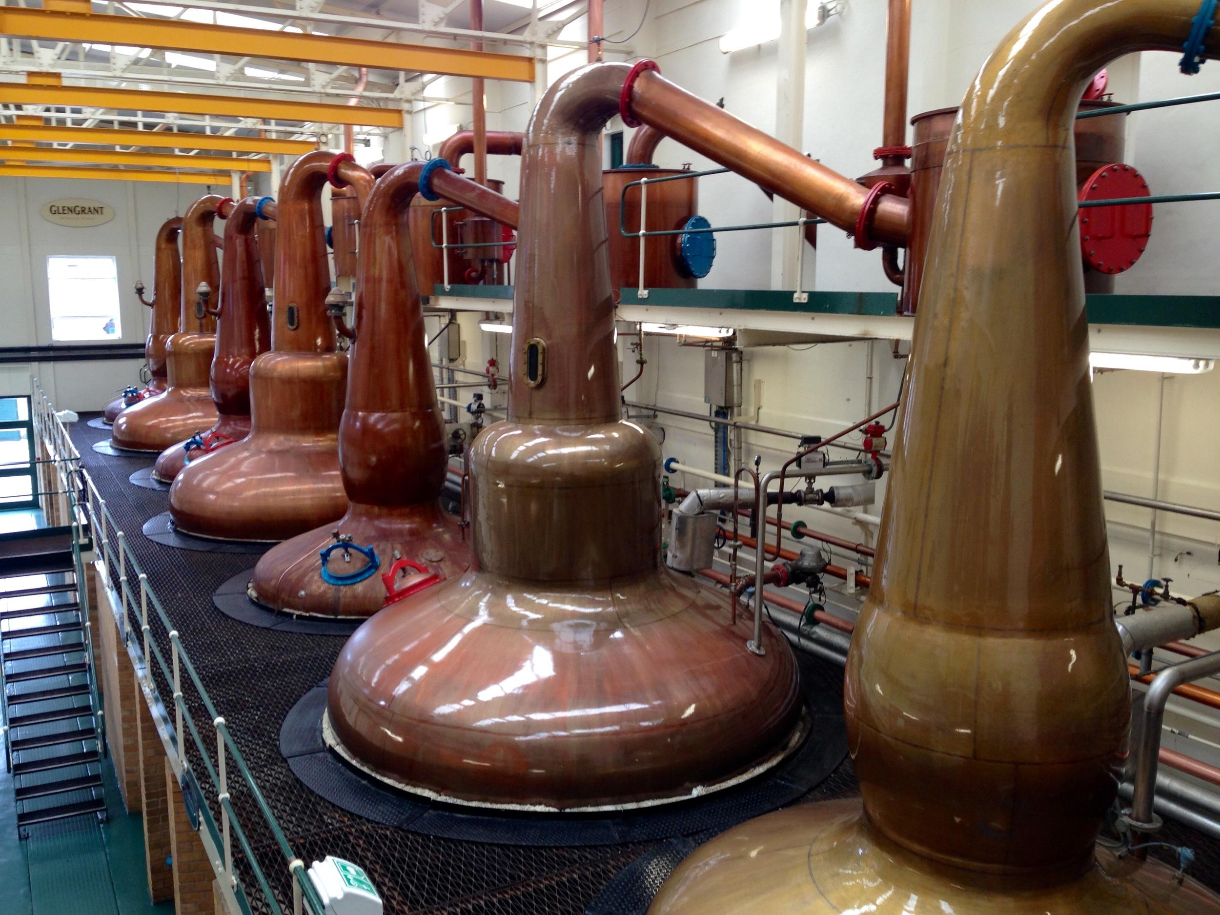 Glen Grant Scotch Whiskey Distillery